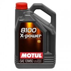 Huile Motul 8100 X-Power 10W60