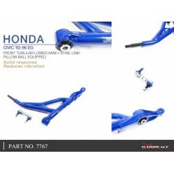 Entretoises Triangles Inf. Arr. Hardrace Honda Civic/Crx/Integra