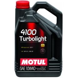 Huile Motul 4100 Turbolight 10W40