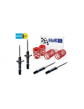 Suspensions Bilstein kit complet BMW Série 3 (E30) 320i suspension standard, (jambe avant ø 45 mm) 12.85-6.91