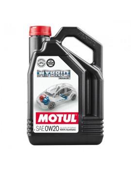 Huile Motul Hybrid 0W20 100% Synthèse