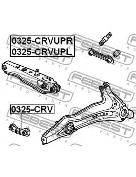 Biellettes Carrossage Arrière Honda Civic/CRX/Integra (87-01)