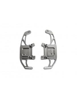 VWR - Palettes aluminium pour DSG - Finition Titane - Golf 7 DSG
