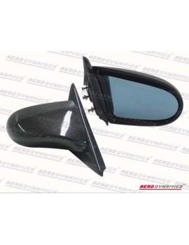 Aerodynamics Rétroviseurs Style Spoon Carbone Honda Civic 92-95 2/3D