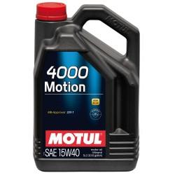 Huile Motul 4000 Motion 15W40