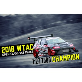 World Time Attack 2018 Open Class Champion!